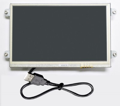 "7"" Open Frame USB Resistive Touch Screen Monitor - UM-760R-OF"